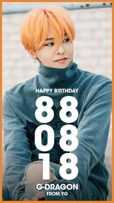 Happy Birthday Kwon Ji Yong ( G Dragon )