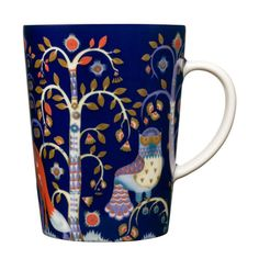Enjoy a cup of coffee, tea or hot chocolate in the iittala Taika Blue Mug. Meaning