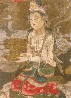 本望は「流浪の画家」、の隆くん: 〇高野山の至宝「国宝・阿弥陀聖衆来迎図」 Buddha Artwork, Buddha Painting, Tibetan Buddhism, Buddhist Art, National Treasure, Thing 1, Chinese Art, Japanese Art, Sculpture Art