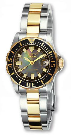 Invicta Women's 2960 Pro Diver Abyss Two-tone Watch - Overstock Shopping - Big Discounts on Invicta Invicta Women's Watches