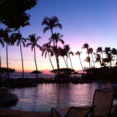 Sunset, Kaanapali, Maui, 2011, check this off went March 18th 2014, it is paradise met many who went on vaca and decided to live there, very tempted myself !