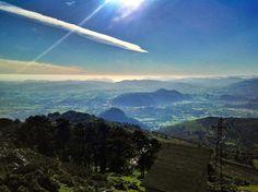 Vistas desde Peña Cabarga, cerca de Santander