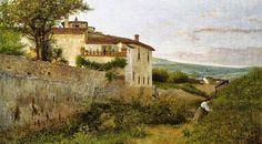 Silvestro Lega ~ Macchiaioli Art Movement