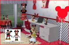 Jenni Sims: Mickey & Minnie Toys Faby • Sims 4 Downloads