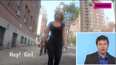 Seth and Olivia have been together for eight months. At first, Seth just mocks the catcaller, pointing out how ridiculous it is. | Men Watch Footage Of Their Girlfriends Being Catcalled