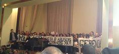 Alumnos y trabajadores toman el rectorado de la Politécnica en protesta contra los recortes / Ángel Calleja @20m   #universidadencrisis