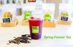 Spring forever tea fresh steeped iced tea!