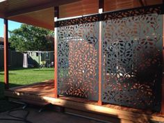 Decorative-Privacy-Metal-Privacy-Screens-Corten-Steel-Powder-Coated