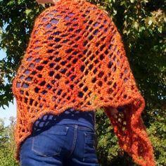 Quick Lacy Shawl free crochet pattern
