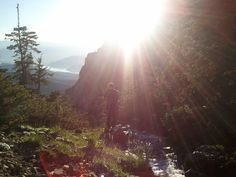 On the way back down from Mt. Timpanogas