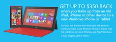 Microsoft extends its iPhone, iPad trade-in to other devices ~ It's about Tech