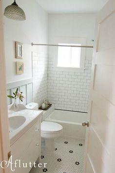 the language of arts crafts craftsman bathroom grout and subway tiles - Craftsman Bathroom Ideas