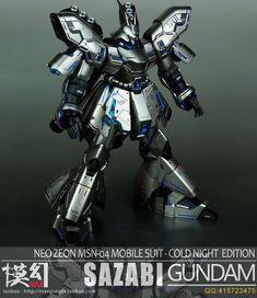 MG 1/100 Sazabi Ver Ka - Painted Build     Modeled by MaxGunpla
