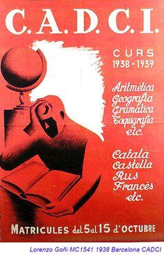 Spain - 1938. - GC - poster - @ Lorenzo Goni