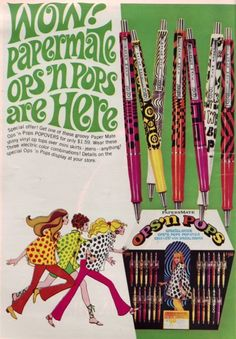 These were the only pens I would use when they came out. I had every design.