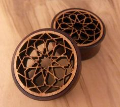 o.O See through...But not tunnels. Love it<3   {{ Wooden plugs }}