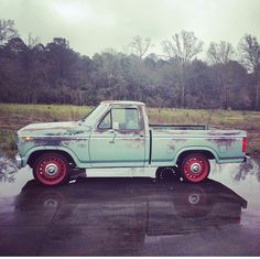 '82 Ford F-150 Classic Ford Trucks, Trucks And Girls, Slammed, Hot Cars, Rat, Ford Trucks, Autos, Blue Prints, Rats