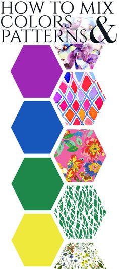 Mixing Colors & Patterns – Stylish Sassy & Classy