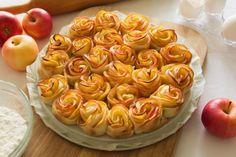 Rosas de Maçã - Receitas de Mãe