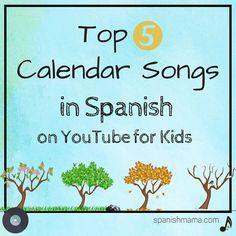 Here are some of our favorite picks for calendar songs in Spanish-- canciones for kids about  days, months, seasons, and weather. If you're homeschooling, you might consider doing calendar time each day in Spanish, or making it bilingual. Don't forget I have a whole resources page for our favorite songs in Spanish by category!  Days of the Week / Los días de la semana from Tooby's  https://www.youtube.com/watch?v=aXCfpS2Lx2Q 2. Days of the Week / Los días de la semana con Miss Rosi  3. The…