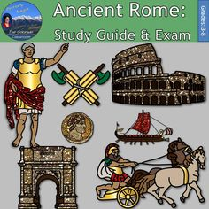 Ancient Rome: Study Guide & Exam is the culminating lesson from my larger unit, Ancient Rome Interactive Notebook. This lesson includes a 2-page study guide with answer key and a 3-page exam with answer key. It follows along and aligns with my larger item, Ancient Rome Interactive Notebook, available below.
