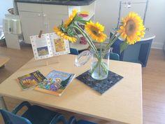 van Gogh provocation for preschoolers.  Acorn School Richmond Hill, ON Canada  www.acornschool.ca