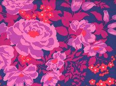 "Joel Dewberry Rose Bouquet Rayon Orchid <br><FONT COLOR=""fc7db0"">Employee Favorite!</FONT>"