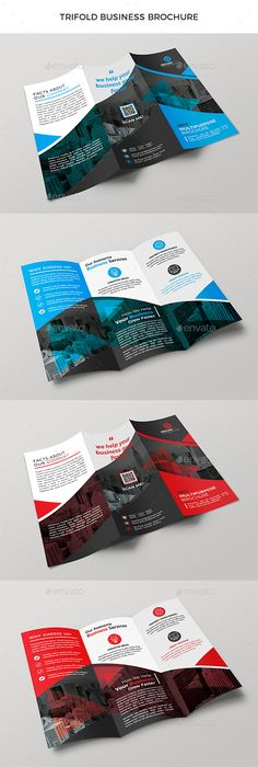 #Trifold Business #Brochure - Corporate Brochures Download here: https://graphicriver.net/item/trifold-business-brochure/19966920?ref=alena994