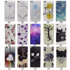 2016 Cute 3D Glitter Transparent Silicone Case sFor Huawei P8 / P8 Lite TPU Soft Back Cover with Design Cartoon Coque fundas #>=#>=#>=#>=#> Click on the pin to check out discount price, color, size, shipping, etc. Save and like it!
