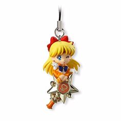 Twinkle Dolly Sailor Moon Figure Mascot Strap Key Chain Venus Japan >>> Click here for more details @