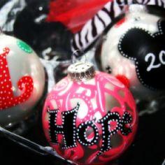 Christmas Ornaments by Kristy Scharenbroch  Photography by Kristy Scharenbroch