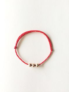 Red String Bracelet - Protection Bracelet - Kabalah by LotusLantern. The strings for these bracelets have been blessed at the temple by 200 Buddhist monks. Not blessed version also available too.