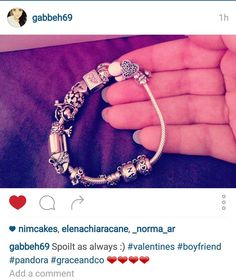 Shop Now for #Charms #Jewellery & #Watches > http://ift.tt/1Ja6lvu - We love to see what you've been bought! Gabby received two lovely charms from her boyfriend for valentines. What did you all get?