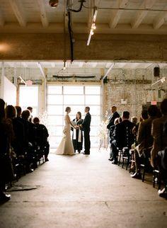 Wedding, ceremony, bride, groom, sara mark, audience