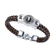 b986487c7b Touirch Anime Jewelry Death Note Metal Gift Wrist Band Bracelet Toy  Produtividade