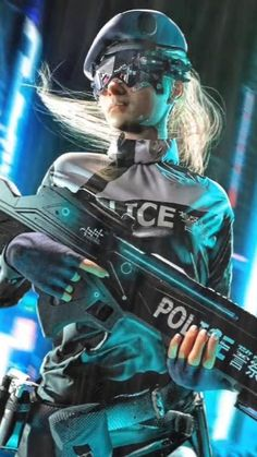 #cyberpunk #spy #police #gun #guns #character #scifi #sciencefiction #neon #dystopia #futuristic #female #femalecharacter #technology #cyborg #cyberpunk2077 #bladerunner #neonoir #3danimation #3dcharacter #3dillustration Cyberpunk 2020, Cyberpunk Girl, Arte Cyberpunk, Futuristic City, Cyberpunk Aesthetic, Character Inspiration, Character Art, Alien Character, Science Fiction