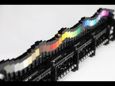 Berthil van Beek (r53 on Flickr) built this Undulating wave of LEGO colors which is actually a GBC machine and it looks amazing via Brothers-Brick.com