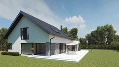 Projekt domu uA14v1 219,92 m2 - koszt budowy - EXTRADOM Shed, Outdoor Structures, House Design, Outdoor Decor, Home Decor, House Architecture, Home Architecture, Decoration Home, Room Decor