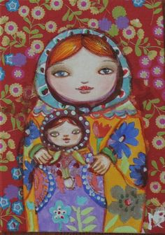 Matryoshka et son enfant