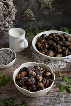 """...konyhán innen - kerten túl...: Bobalki - Szlovák mákos """"gombóc"""" Guam, Blueberry, Favorite Recipes, Meals, Fruit, Poppy, Advent, Food And Drinks, Berry"""