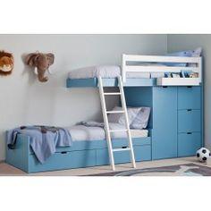 Litera de la firma Asoral, ideas de ensueño para la habitación de los peques #decoracion #infantil #litera