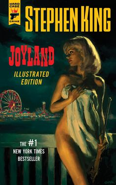 Joyland Illustrated Cover Reveal Hard Case Crime will publish an Illustrated Limited Edition of Joyland in September of 2015. The new edition features cover artwork by Glen Orbik, a map of Joyland illustrated by Susan Hunt Yule, and more than twenty interior illustrations by Robert McGinnis, Mark Summers, and Pat Kinsella.