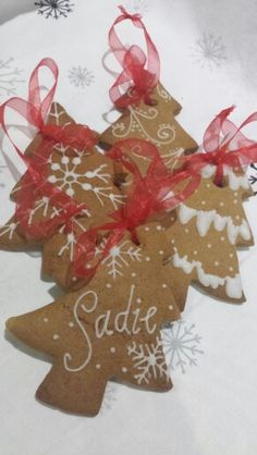 Gingerbread decoration Mrs B's Queen of Cakes