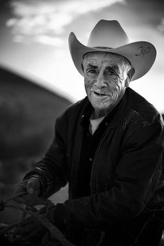 To all you ladies that follow me, that think a cowboy is some sexy stud with 6 pack abs and saddle thrown over his shoulder, That is not a cowboy, Hes a wanna be just like you. This is a real cowboy. Someone who works as hard as his horse.