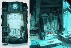 """aymrc: """" Here is a selection of research made back in 2010 where I had the opportunity to work as a Visual development artist for Ankama's first Feature film """" Dofus Book 1, Julith """". The movie is now..."""