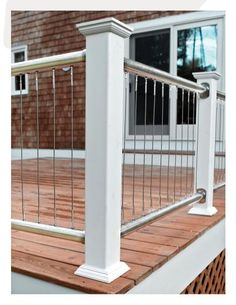 Vertical Cable Railing - Deck
