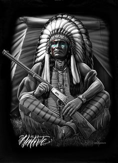 Native American Warrior Chief Super Soft Queen Size Plush Blanket 79 inch x 95 inch Native American Drawing, Native American Tattoos, Native Tattoos, Native American Warrior, Native American Paintings, Native American Pictures, Native American History, Tribal Tattoos, American Indian Art