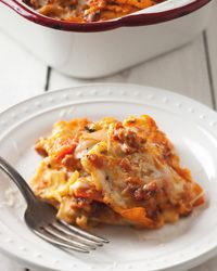 Vegetable-and-Ravioli Lasagna Recipe