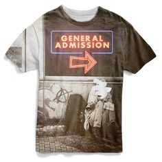 Machine Gun Kelly General Admission Deluxe T-Shirt