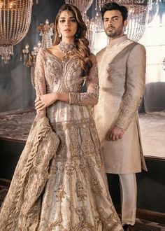 Image may contain: 2 people, people standing Pakistani Wedding Dresses, Indian Dresses, Indian Outfits, Shadi Dresses, Indian Clothes, Desi Wedding Dresses, Blue Bridesmaid Dresses, Bride Dresses, Bridal Outfits